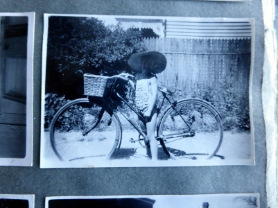 Mum's 'war bike'